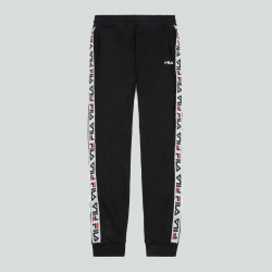 FILA MEN TADEO TAPE SWEAT PANT NOIR