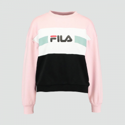 FILA WOMEN ANGELA CREW SWEAT 2.0 ROSE