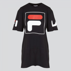 FILA WOMEN SKY TEE DRESS 2.0 NOIR