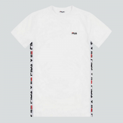 FILA MEN TALAN T-SHIRT BLANC