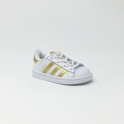 ADIDAS SUPERSTAR BLANC/OR