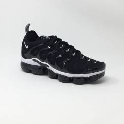 NIKE AIR VAPORMAX PLUS NOIR/BLANC