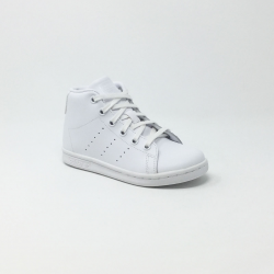 ADIADS SATN SMITH MID C  BLANC