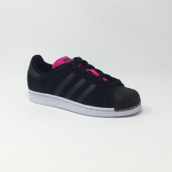 ADIDAS SUPERSTAR NOIR/ROSE