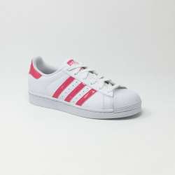 ADIDAS SUPERSTAR J BLANC/ROSE