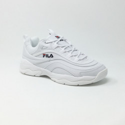 FILA RAY LOW BLANC