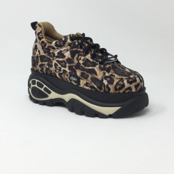 BUFFALO LONDON CALSSIC KICKS LEOPARD