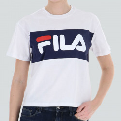 FILA WOMEN ALLISON T-SHIRT BLANC/NOIR