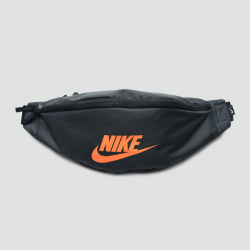 NIKE SPORTSWEAR HERITAGE HIP NOIR/ORANGE
