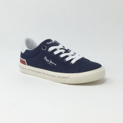 PEPE JEANS TENNIS CANVAS MARINE