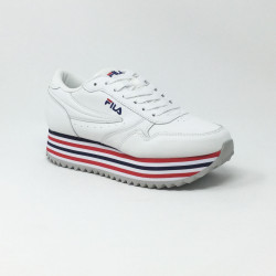 FILA ORBIT ZEPPA STRIPE BLANC