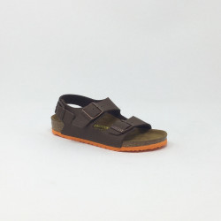 BIRK MILANO DESERT  MARRON/ORANGE