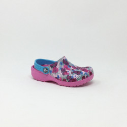 CROCS KIDS CLASSIC GRAPHIC ROSE