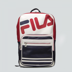 FILA BASIC BACKPACK PU MARINE/ROUGE