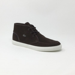 LACOSTE SEVRIN MID MARRON FONCE