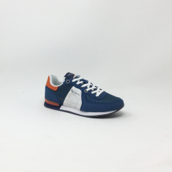 PEPE JEANS SYDNEY BASIC BLEU/ORANGE