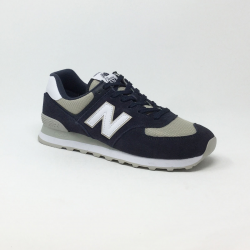 NEW BALANCE ML574 D MARINE/BEIGE