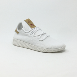 ADIDAS PW TENNIS HU BLANC/MARRON