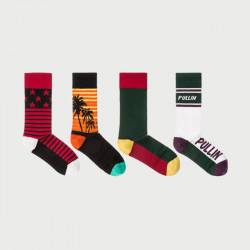 PULL IN CHAUSSETTES PACK 4 PAIRES
