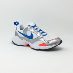 NIKE AIR HEIGHTS BLANC/BLEU