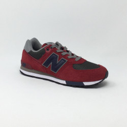 NEW BALANCE GV574 ROUGE
