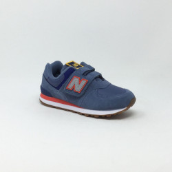 NEW BALANCE VLC PC574 M BLEU