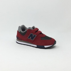 NEW BALANCE VLC YV574 M ROUGE