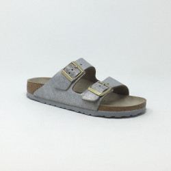 BIRK ARIZONA METALLIC BLEU SILVER