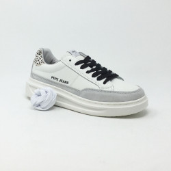 PEPE JEANS ABBEY BASS BLANC