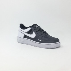 NIKE AIR FORCE 1 GRIS/BLANC