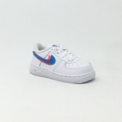 NIKE FORCE 1 BLANC/MULTI