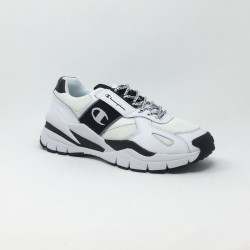 CHAMPION LOW CUT SHOE BLANC/NOIR