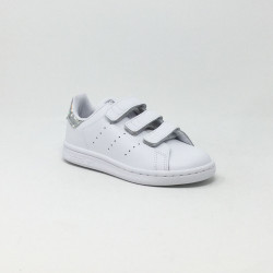 ADIDAS STAN SMITH BLANC/MIROIR