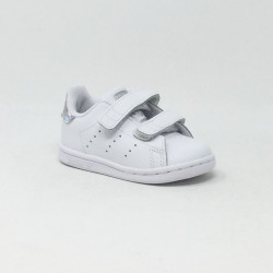 ADIDAS STAN SMITH BLANC/MIRROIR