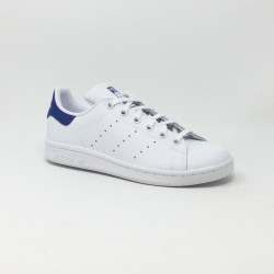 ADIDAS  STAN SMITH CF J BLANC/BLEU