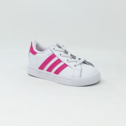 ADIDAS COAST STAR BLANC/ROSE