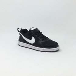 NIKE COURT BOROUGH LOW NOIR/BLANC