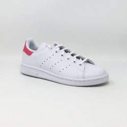 ADIDAS STAN SMITH BLANC/ROSE