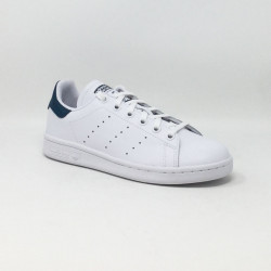 ADIDAS STAN SMITH BLANC/BLEU