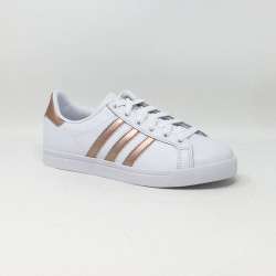 ADIDAS COAST STAR BLANC/BRONZE