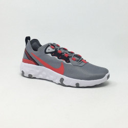 NIKE RENEW ELEMENT 55 GRIS/ROUGE