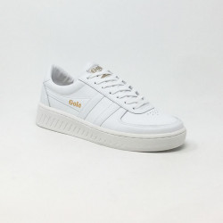 GOLA GRANDSLAM LEATHER BLANC
