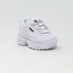 FILA DISRUPTOR KIDS LOW BLANC