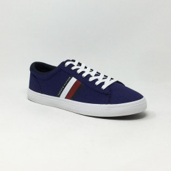 TOMMY HILFIGER ESSENTIAL STRIPES BLEU