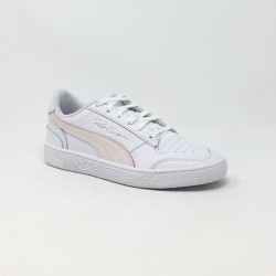 PUMA SAMPSON BLANC/ROSE
