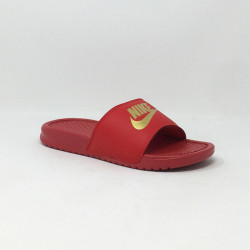 NIKE BENASSI JUST DO IT ROUGE