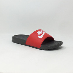 NIKE BENASSI JUST DO IT NOIR/ROUGE