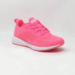 SKECHERS BOBS SQUAD GLOWRIDER ROSE