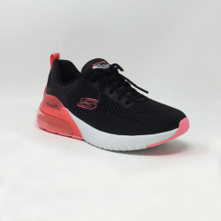 SKECHERS WIND BREEZE NOIR/ROSE