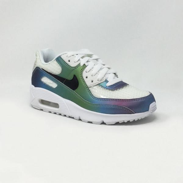 Nike Femme Sport Sneakers Mode 2020 Air Max 90 Multicolore